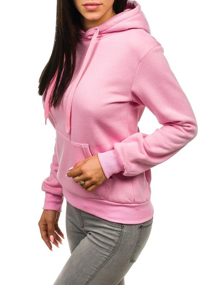 ZĽAVA 27% na Ružová dámska mikina značky J.STYLE c26908fa145
