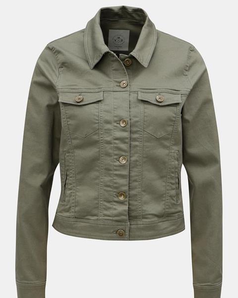 Kaki krátka rifľová bunda značky VERO MODA d10e7ed2a5c