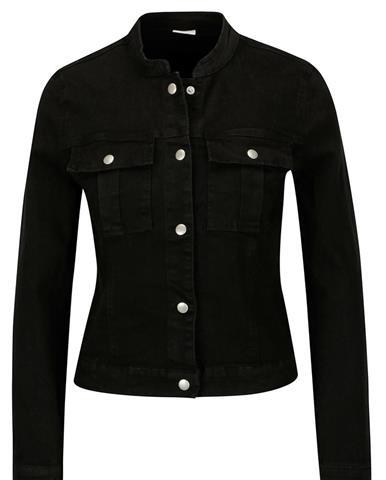 Čierna rifľová bunda Jacqueline de Yong Five