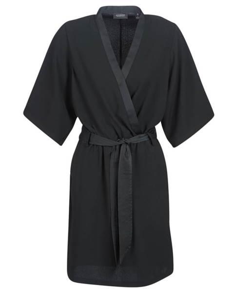 Krátke šaty Maison Scotch  SS BLACK DRESS