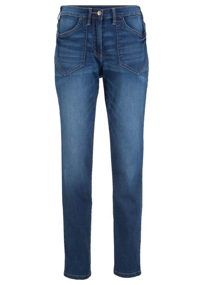 """Strečové džínsy """"vysok..."""