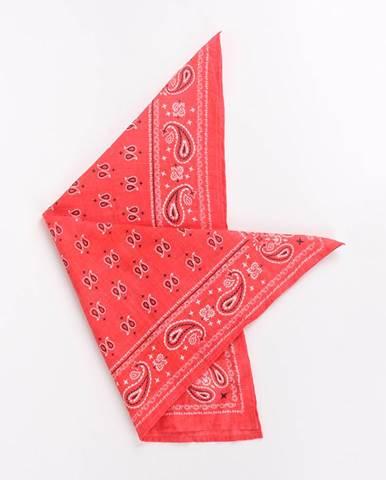 81a90e021b Šatka Terranova Sciarpa Tessuta Červená