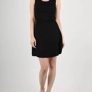 Šaty Superdry ALINA LACE KNITTED DRESS Čierna