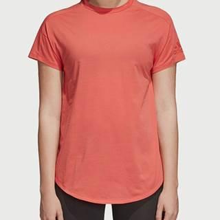 Tričko adidas Performance W Zne Tee Oranžová