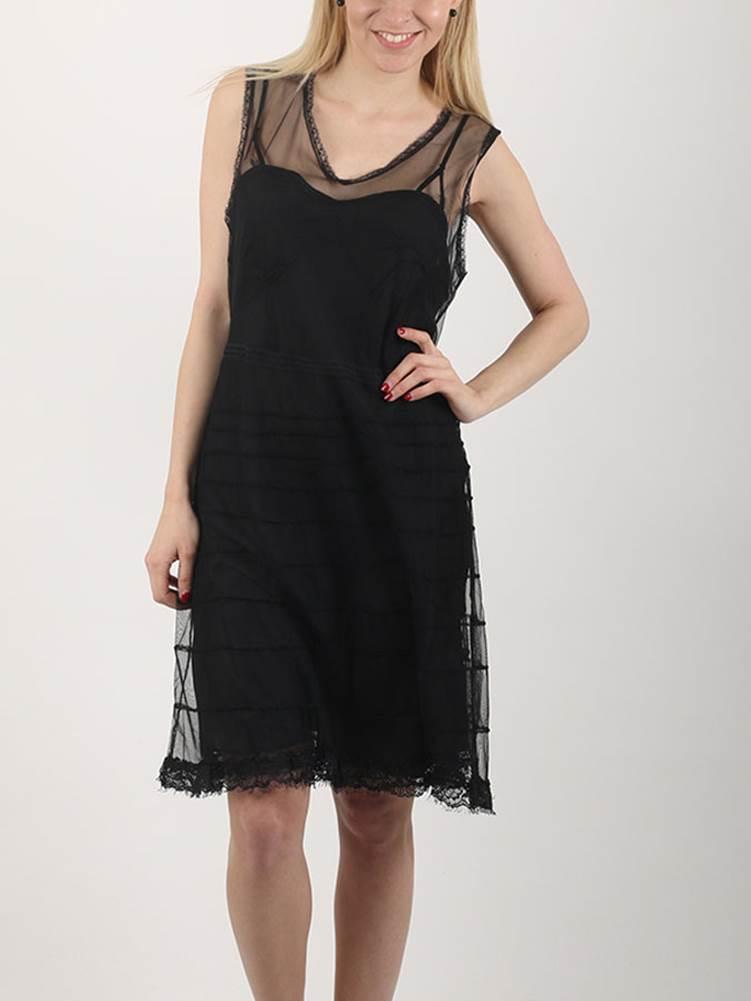D-Bessie Šaty Diesel Čierna
