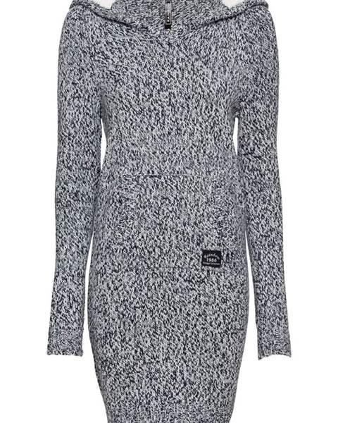 Pletené šaty s podšívanou kapucňou značky RAINBOW 6f8aeb6a0a