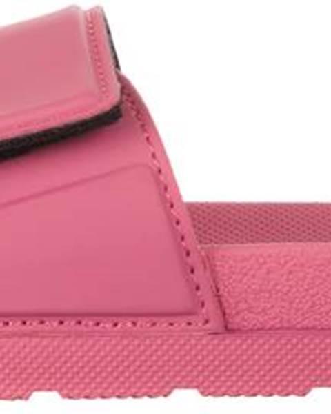 ZĽAVA 64% na Šľapky Ružová značky HUNTER 483cf1da029