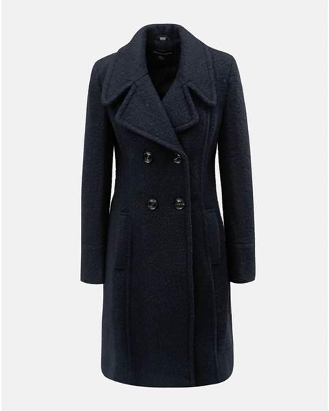 ... umelou kožušinkou Dorothy Perkins. Tmavomodrý zimný kabát 9e380ac1136