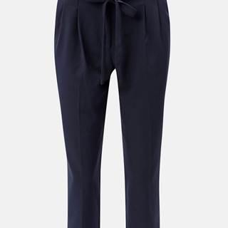 Tmavomodré skrátené nohavice