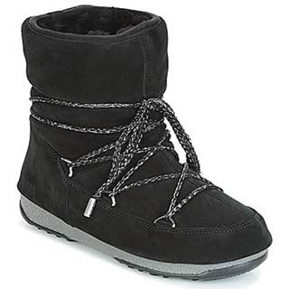 Obuv do snehu Moon Boot  LOW SUEDE WP
