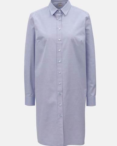 ZĽAVA 20% na Čierne ľanové košeľové šaty DKNY d526ff47075