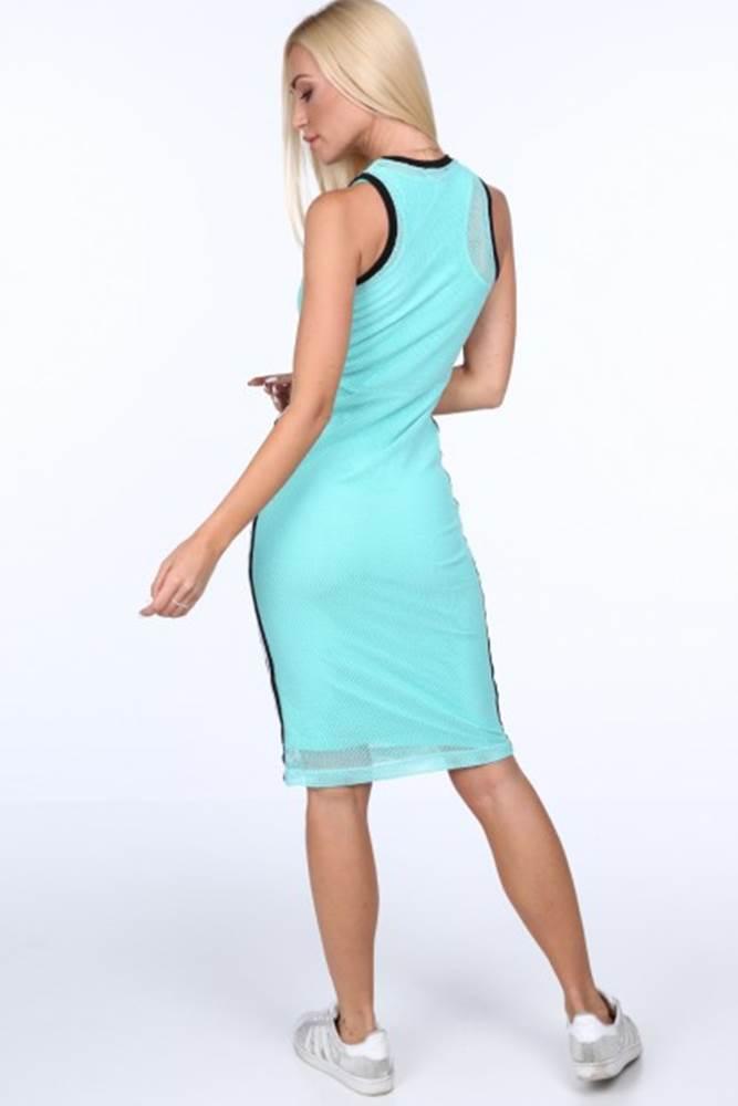 Svetlozelené dámske šaty v ...