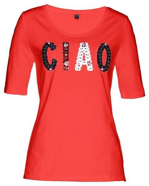 Premium tričko s flitrami