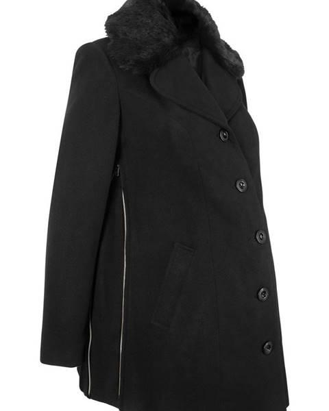45c903e54c82 Tehotenský krátky kabát vo vlnenom vzhľade