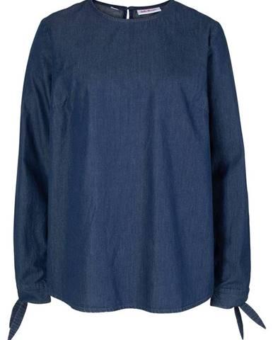 a0808a789e49 ZĽAVA 30% na Sivá kockovaná tunika s výšivkou Dorothy Perkins