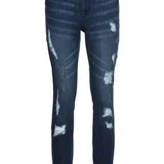 Super Skinny džínsy, skrátené, s push-up