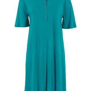 Úpletové šaty s golierom