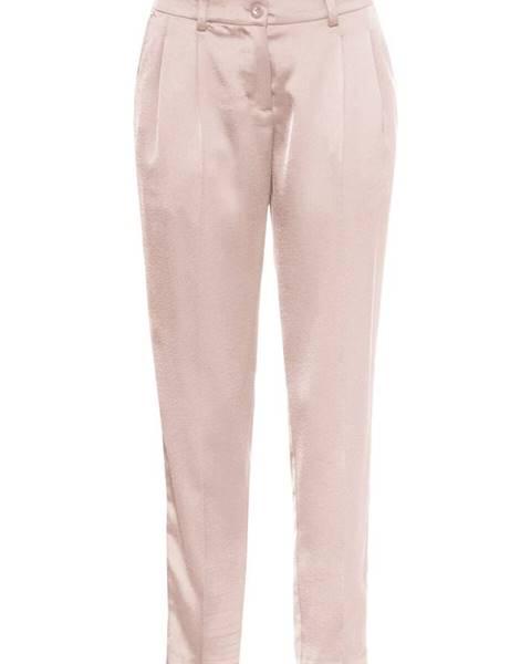 059dc259284f 7 8 saténové nohavice s lemom značky BODYFLIRT