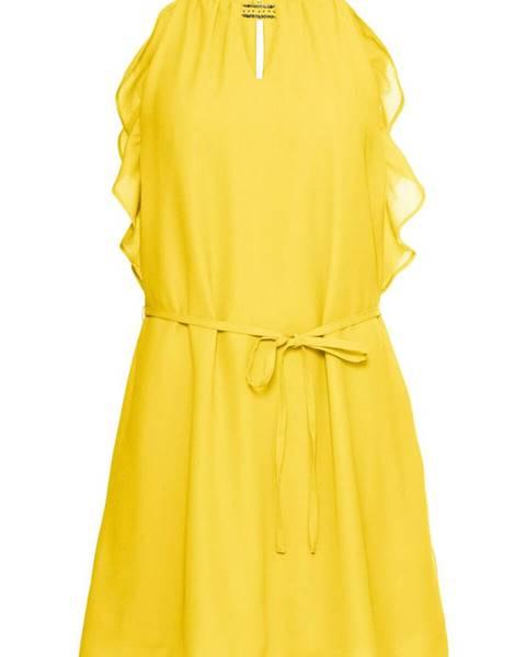1a64d58ac83a Šifónové šaty s volánom značky BODYFLIRT