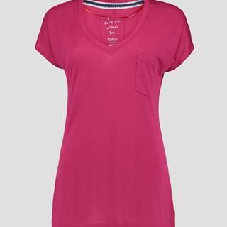Tričko O´Neill LW JACKS BASE V-NECK T-SHIRT Růžová