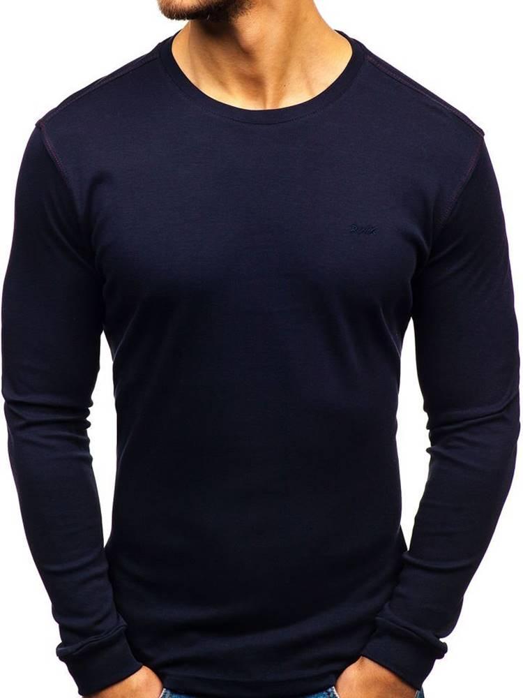 Tmavomodré pánske tričko s ...