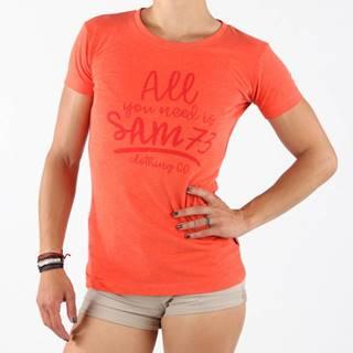 Tričko SAM 73 LTSN476 Oranžová