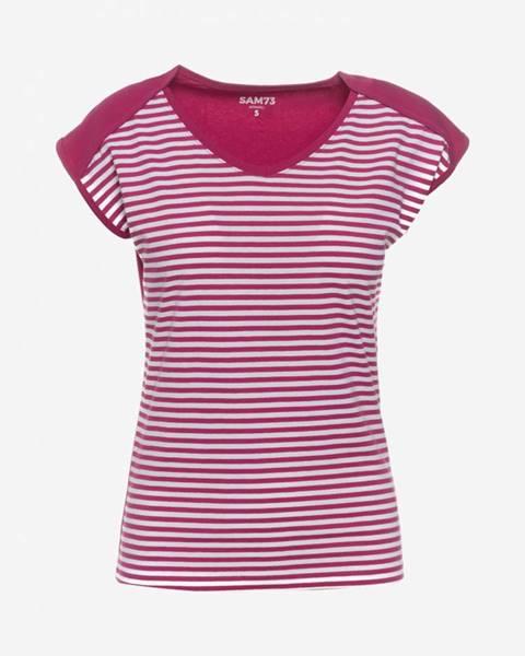 Tričko SAM 73 LTSN472 Růžová
