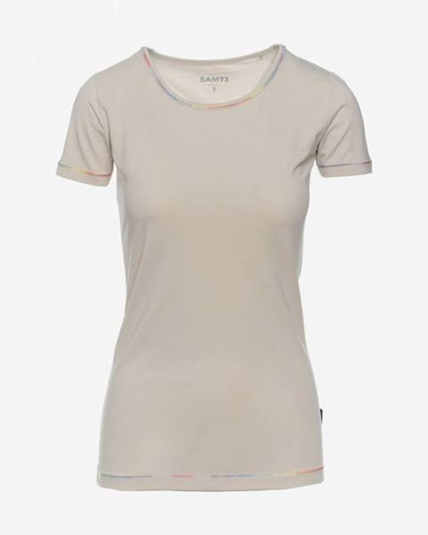 Tričko SAM 73 LTSN483 Béžová