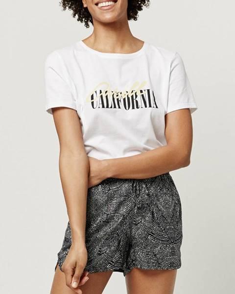 Tričko O´Neill Lw Script Logo T-Shirt Šedá