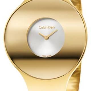 Calvin Klein Seamless Hodinky Zlatá