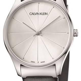 Calvin Klein Classic Too Hodinky Čierna