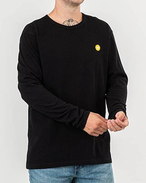 WOOD WOOD Mel Long Sleeve Tee Black