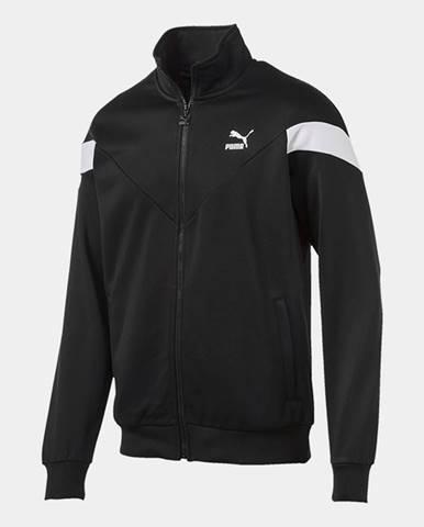 Bunda Puma Iconic MCS Track Jacket Black Čierna
