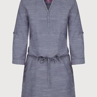Šaty Loap Nicia Modrá