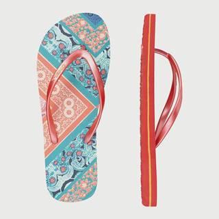 Žabky  Fw Summer Print Flip Flops Farebná