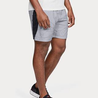 Kraťasy Under Armour Launch Sw 7'' Printed Short Šedá