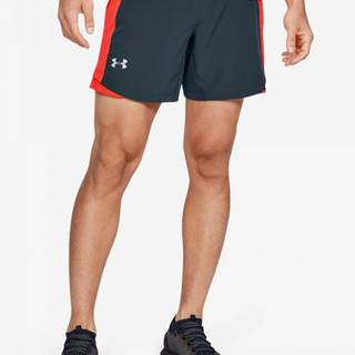 Kraťasy Under Armour Qualifier Speedpocket 7'' Short-Gry Modrá