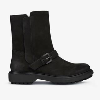 Topánky Geox D Asheely Čierna