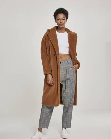 Dámsky hnedý kabát Urban Classics L