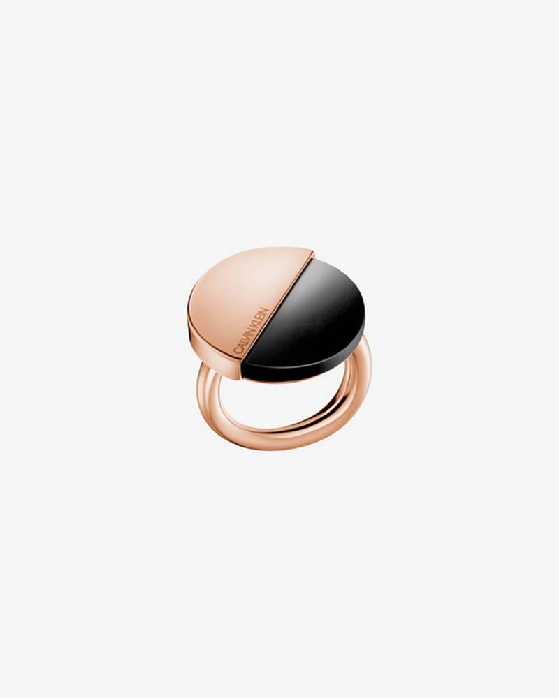 Calvin Klein Prsteň Čierna ...