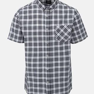 Modro-biela kockovaná košeľa Burton Menswear London Orban