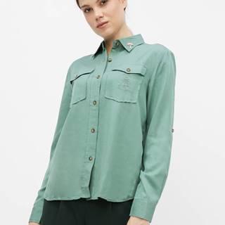 Zelená košeľa Femi Stories Sepia