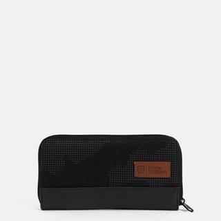 Čierna dámska vzorovaná peňaženka  Tate