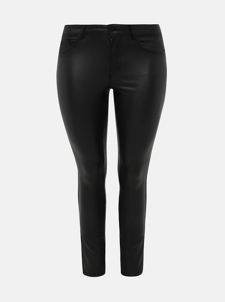 Čierne skinny fit nohavice ...