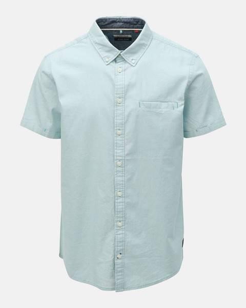 Svetlomodrá košeľa s vreckom Blend