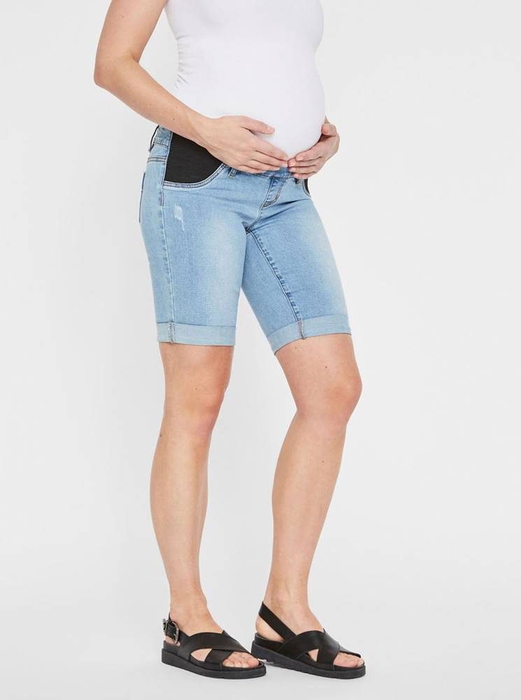 Modré tehotenské rifľové kr...
