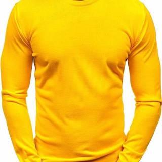 Žltý pánsky sveter