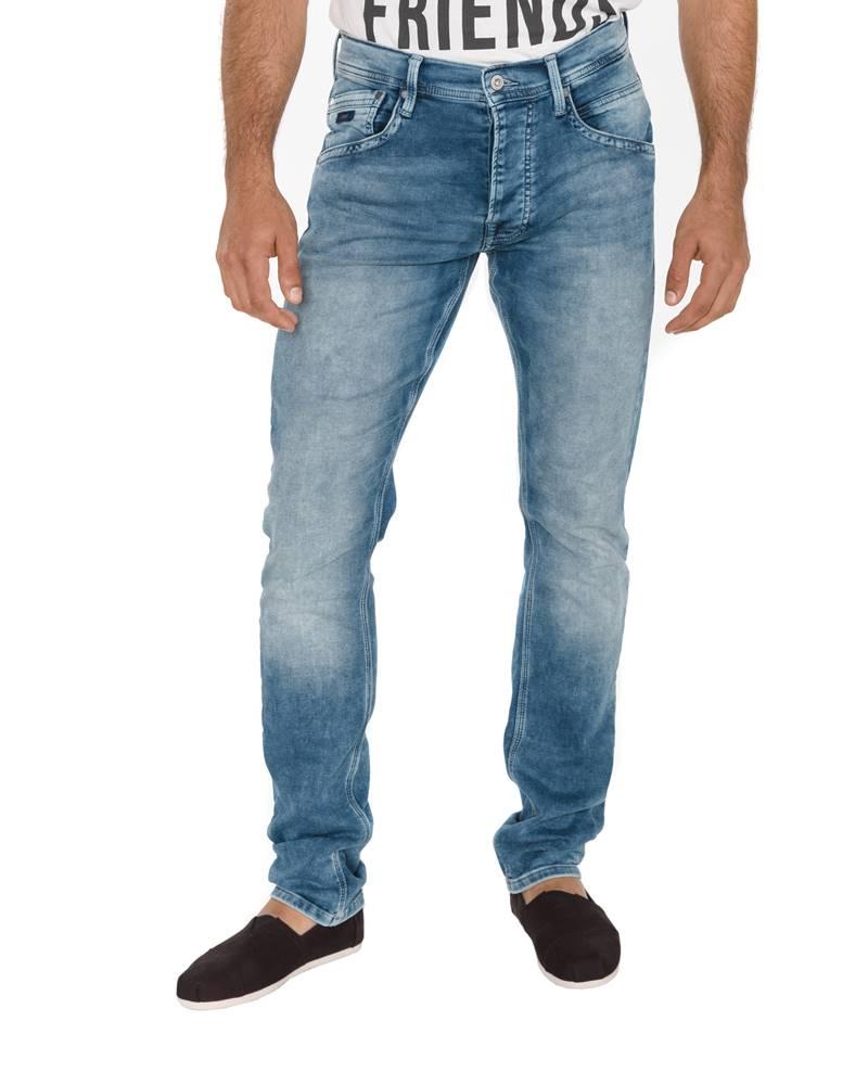 Pepe Jeans Track Jeans Modrá