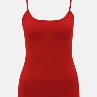 Červené dámske basic tielko ZOOT Diana
