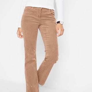 Strečové kordové nohavice, rozšírené